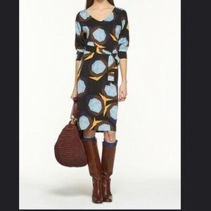Diane von Furstenburg Gota Silk Geometric Dress